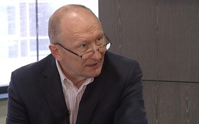 Hiljuti Tallinna tehnikaülikooli rektoriks valitud akadeemik Jaak Aaviksoo.