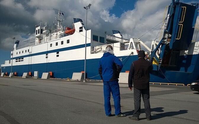Parvlaev Ionas on rikkis.