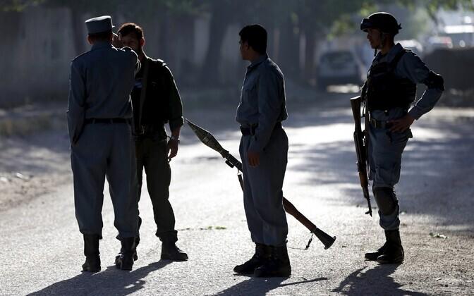 Afganistani politseinikud.