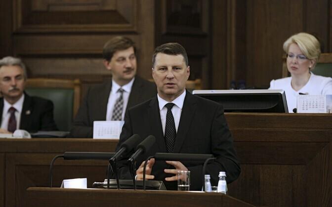 Läti president Raimonds Vejonis
