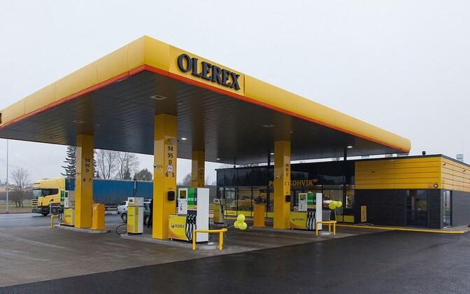 Olerex service station.