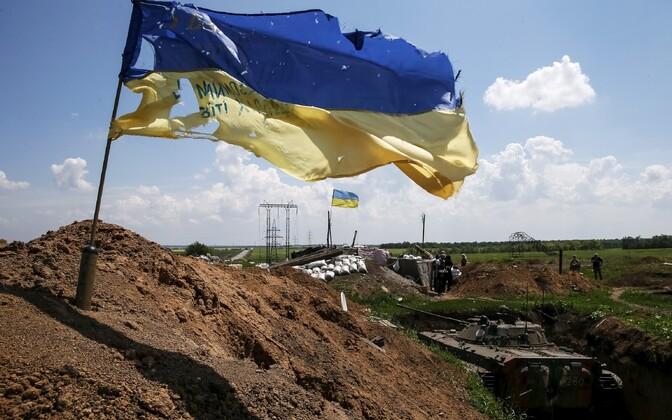Ukraina vägede positsioonid Marjinka piirkonnas