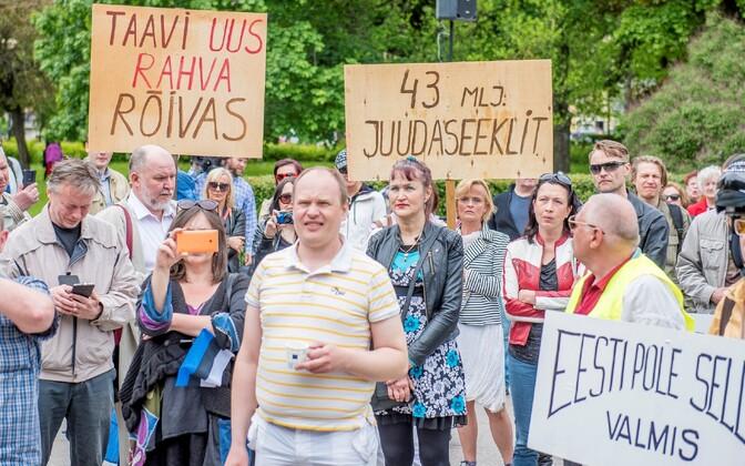 Не все в Эстонии согласны с приемом беженцев.