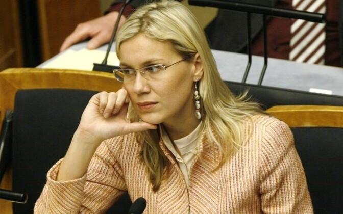 Keskfrakstiooni esimees Kadri Simson.