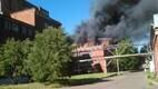 Фотографии с территории завода Molycorp Silmet, где 9 июня сгорел производственный цех.