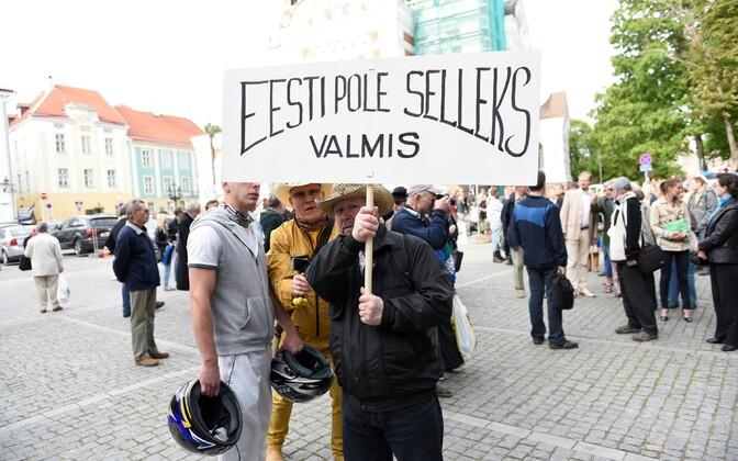 EKRE meeleavaldus massiimmigratsiooni vastu