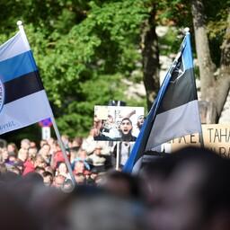EKRE meeleavaldus massiimmigratsiooni vastu.