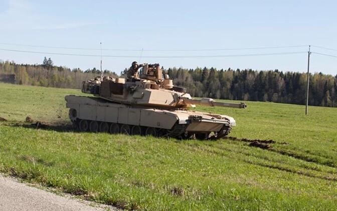 USA tank suurõppusel Siil