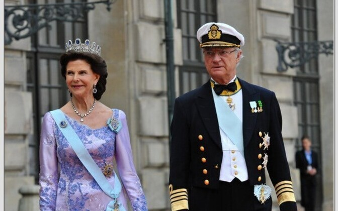 Swedish Queen Silvia and King Carl XVI