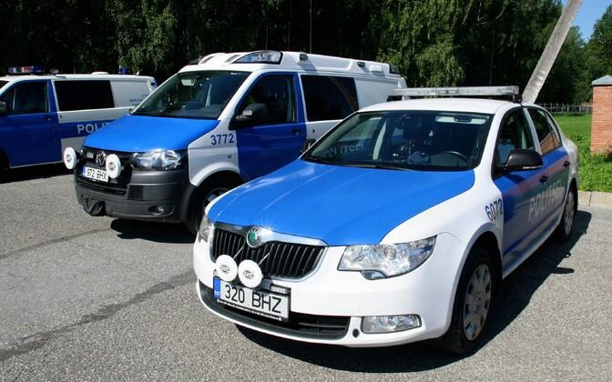Politseiautod.