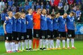 Estonian football team