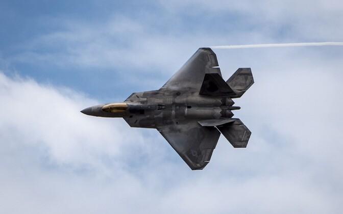USA hävituslennuk F-22 Raptor