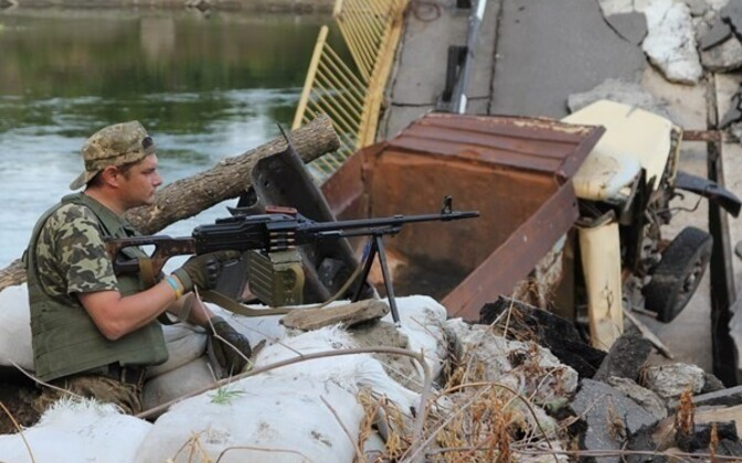 Eastern Ukraine, close to the front line