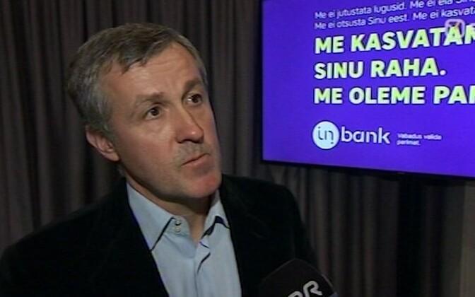 Inbanki nõukogu esimees on Priit Põldoja.