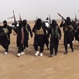 Äärmusrühmituse Islamiriik võitlejad