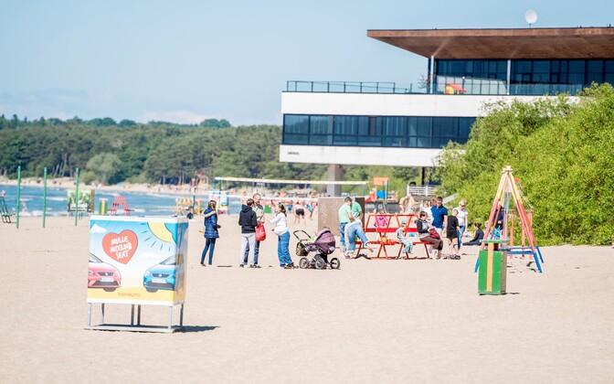 Pirita Beach.
