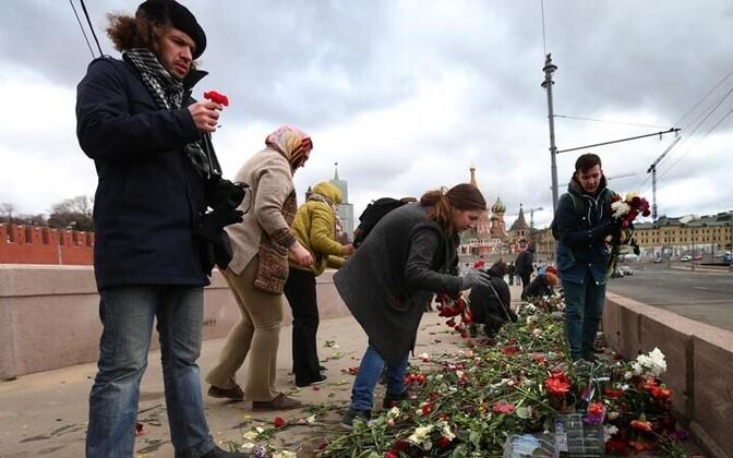 Bolšoi Moskvoretski sild, kus Boriss Nemtsov mõrvati
