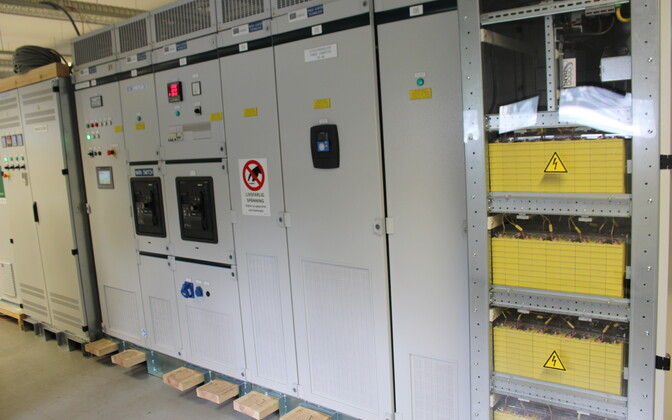 Energiat salvestava alajaama prototüüp