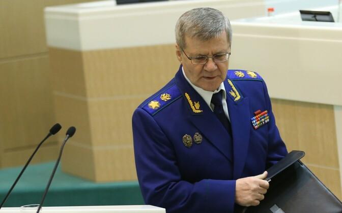 Prosecutor General of Russia Yury Chaika