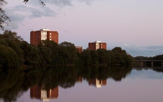 Силламяэская река Сытке. Иллюстративная  фотография.