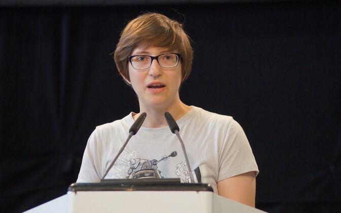 Julia Reda on Euroopa Parlamendi liige Euroopa Piraadipartei ainsa esindajana