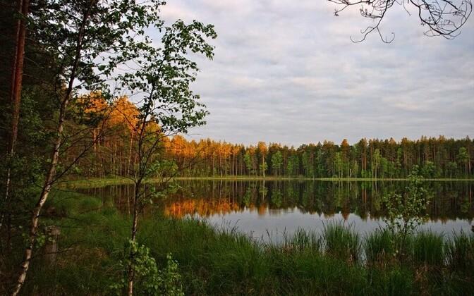 Lake Valgjärv