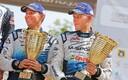 Raigo Mõlder ja Ott Tänak lõpetasid 2015. aasta Poola ralli kolmandal kohal.