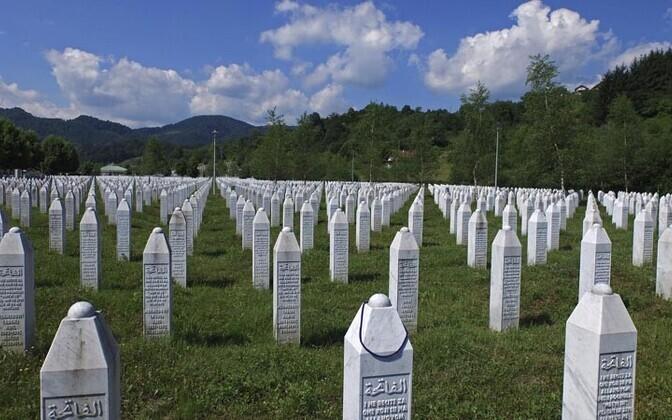 Ohvrite memoriaal Srebrenicas