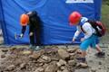 Suurest põlevkivi kamakast sai fossiile otsida Tartu ülikooli geoloogide eestvedamisel.