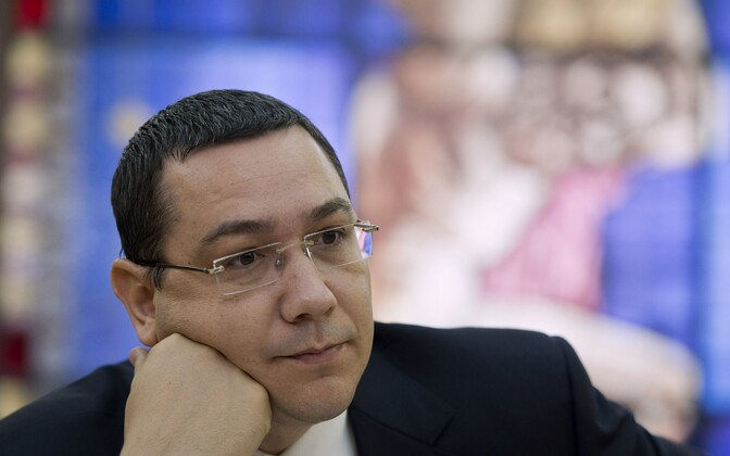 Rumeenia peaminister Victor Ponta