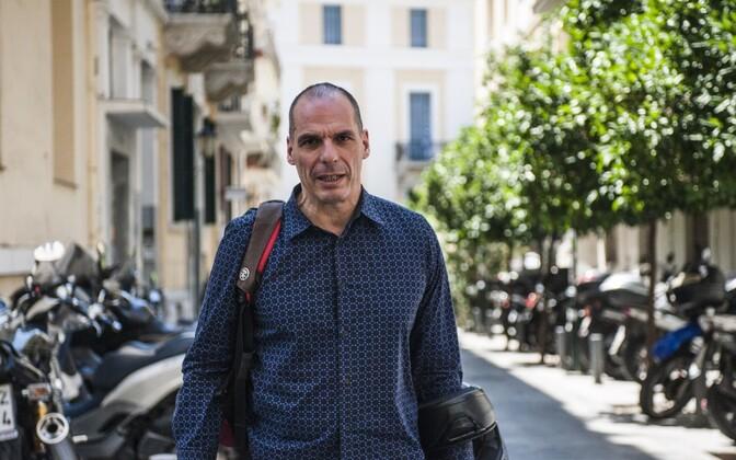 Kreeka endine rahandusminister Yanis Varoufakis