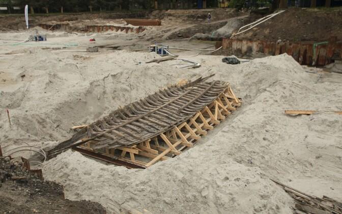 Археологические находки на месте строительства жилого комплекса Тиволи в Кадриорге