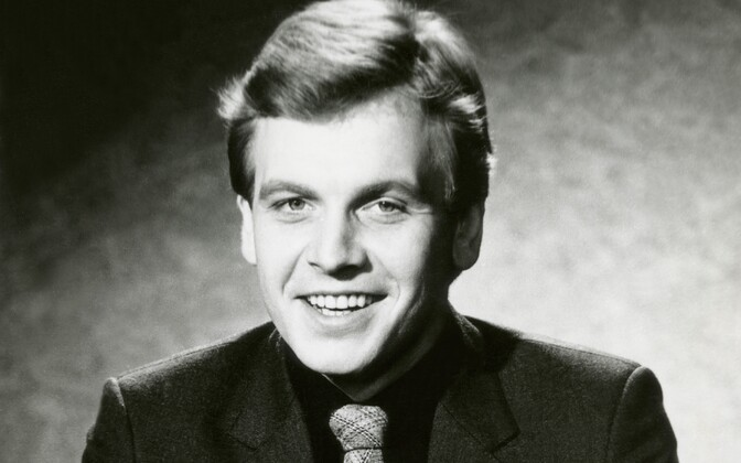 Diktor Urmas Ott. 1982