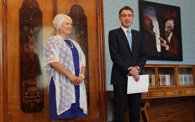 Marina Kaljurand ja Taavi Rõivas.