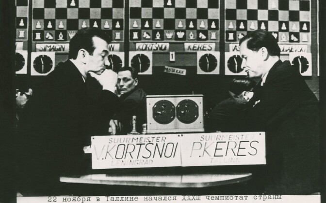 Chess championships with chess players Viktor Korchnoi and Paul Keres