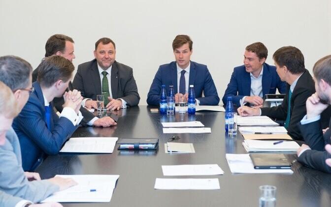 Riigikogu Euroopa Liidu asjade komisjoni (ELAK) istung