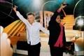 Winners of Eurovision 2001 Tanel Padar and Dave Benton