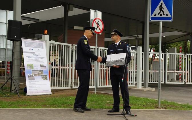 В июле 2015 года в Нарве торжественно открыли новый погранпункт