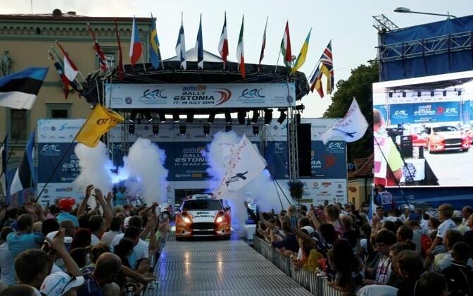 FIA ERC auto24 Rally Estonia was won by Russia's Alexey Lukyanuk in front of Kajetan Kajetanowicz and Rainer Aus