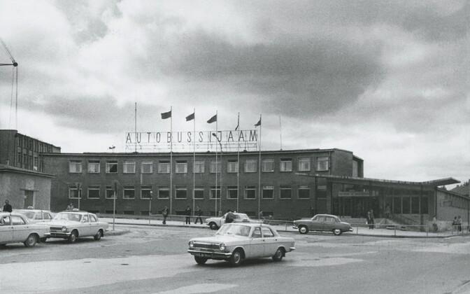 Автовокзал в 1981 году.
