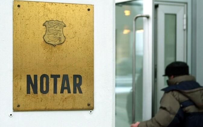 Notaribüroo Tallinnas.