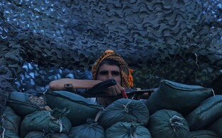 Afganistani valitsuse sõdur Helmandi provintsis. Illustreeriv foto.