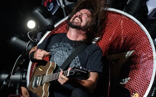 Foo Fightersi ninamees Dave Grohl.