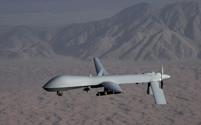 USA õhuväe droon MQ-1 Predator, foto on illustreeriv