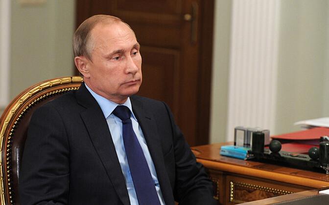 Venemaa president Vladimir Putin 6. augustil Novo-Ogarjovo residentsis