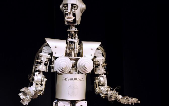 Kultuurne robot Musée des Arts et Métiers´s Pariisis.