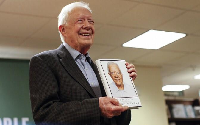 Jimmy Carter eelmisel kuul oma uut raamatut esitlemas