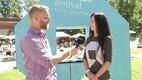ERR.ee ajakirjanik Allan Rajavee intervjueerimas Paide linnapead Siret Pihelgast.