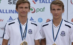 Mattias ja Kristofer Siimar.