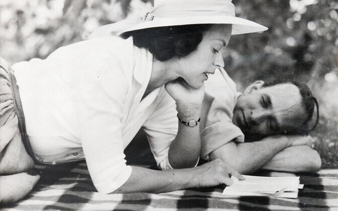 Ingmar Bergman ja Käbi Laretei